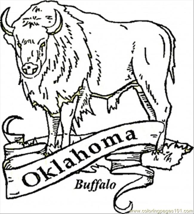 oklahoma state flag coloring pages - photo #33