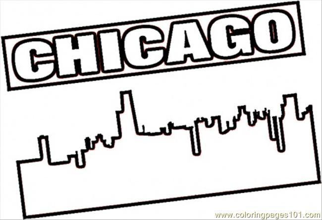 Chicago cubs free coloring pages for Chicago bulls coloring pages
