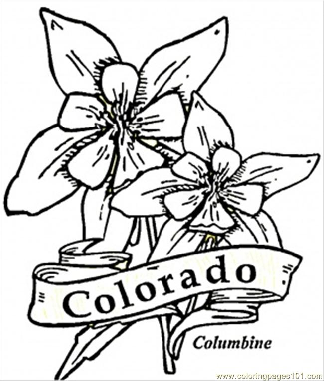 coloring pages colorado  countries  gt  usa  free printable coloring page online Mountain Coloring Pages  Colorado Coloring Pages