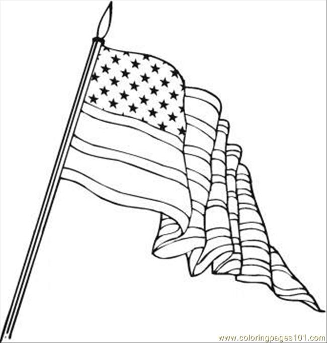 Coloring Pages Flag Day Coloring Page Countries Gt Usa