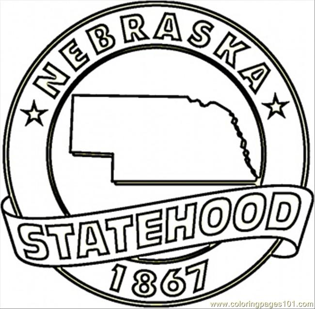 cornhusker coloring pages photo8