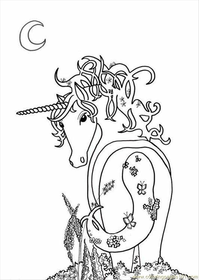 The Last Unicorn Coloring Pages Coloring Pages The Last Unicorn Coloring Pages