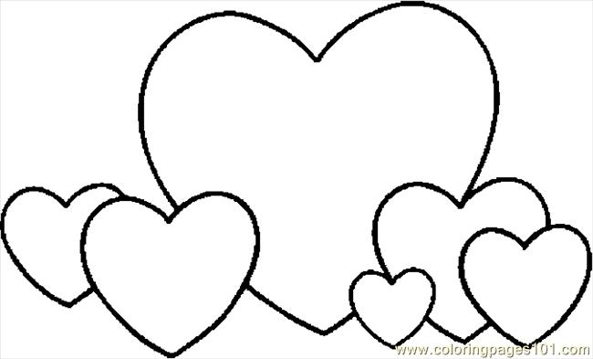 valentine coloring pages for girls - photo#35