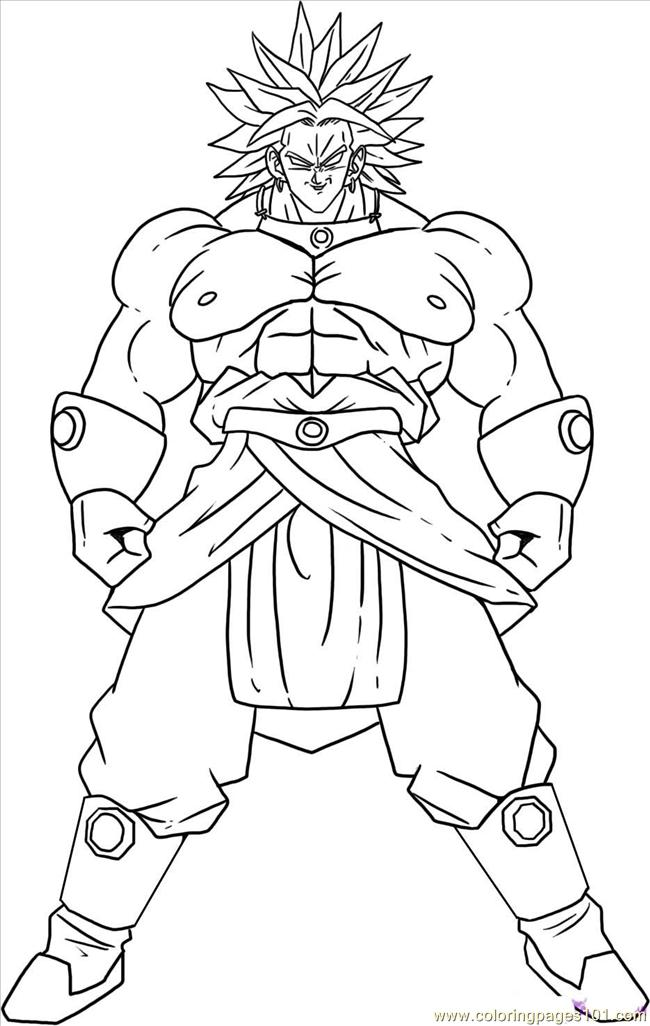Vegeta ssj3 coloring pages coloring pages for Vegeta coloring pages