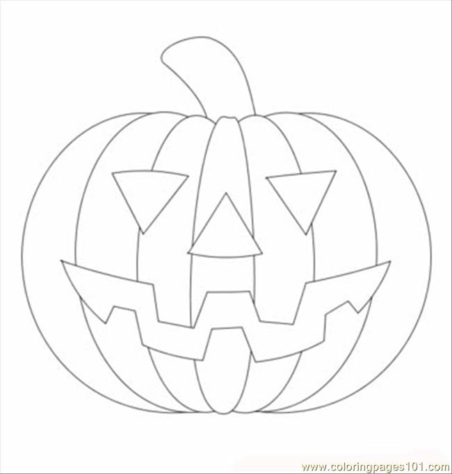 Coloring Pages Halloween Pumpkin