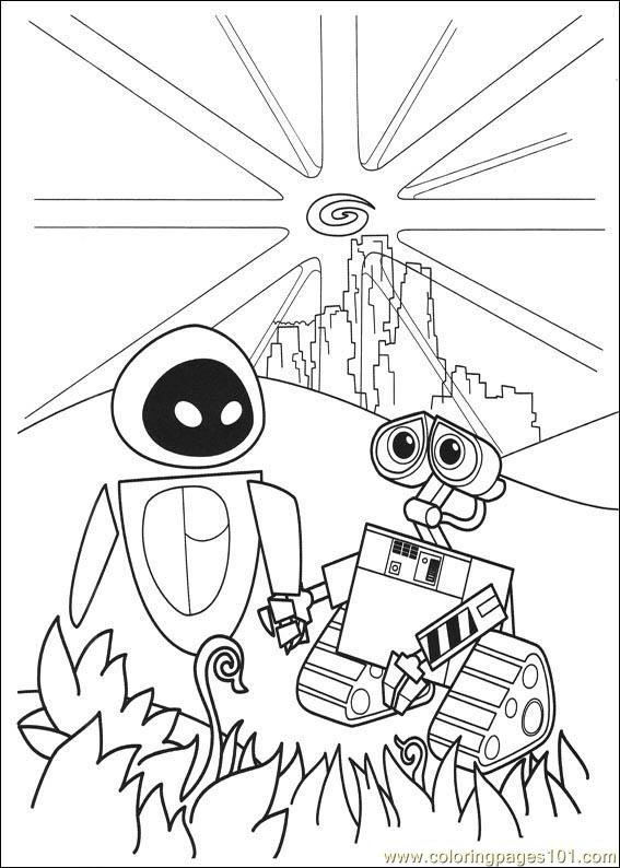 wall_e coloring pages - photo#35