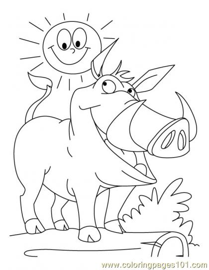 Emotional Wild Dogs Coloring Pages