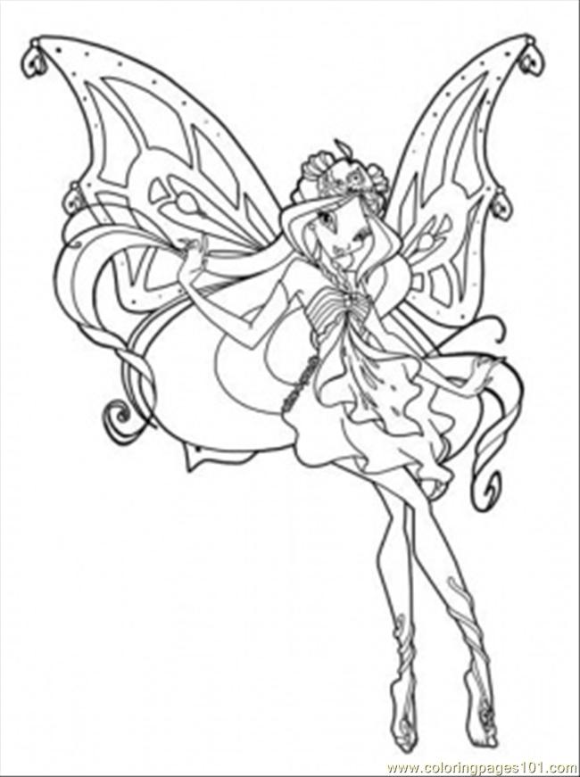 winx club online coloring pages - photo#19