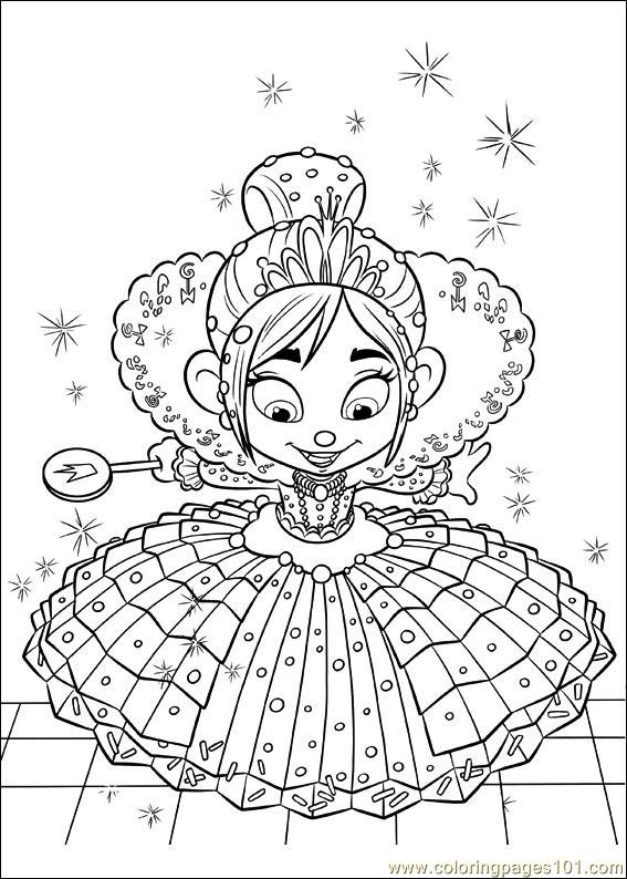 Wreck-It Ralph Coloring Pages to Print