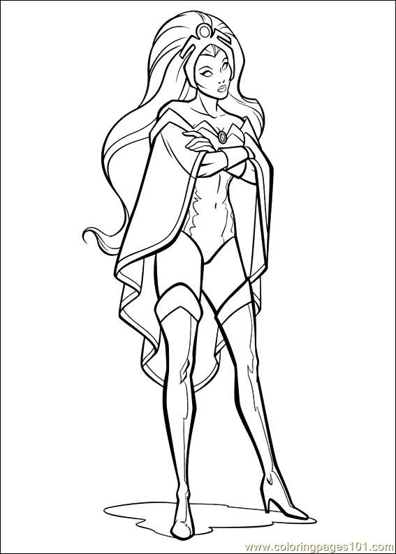 x men coloring book pages - photo #12