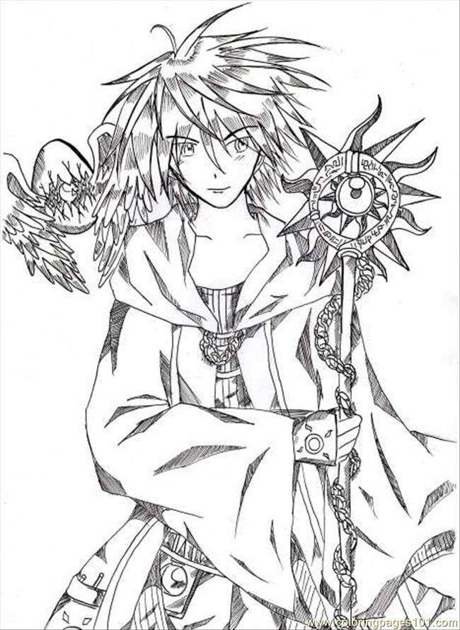 Coloring pages ygo cartoons gt yu gi oh free printable coloring
