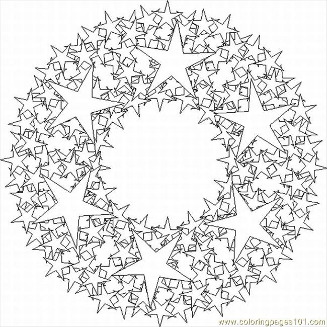 kaleidoscope designs free coloring pages - photo#35