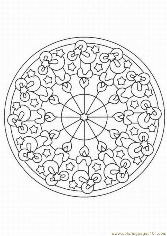 kaleidoscope coloring pages to print - photo #7