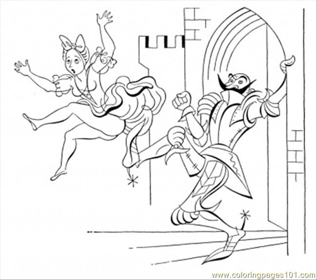 princess and knight coloring pages - knight and princess coloring sheets pictures