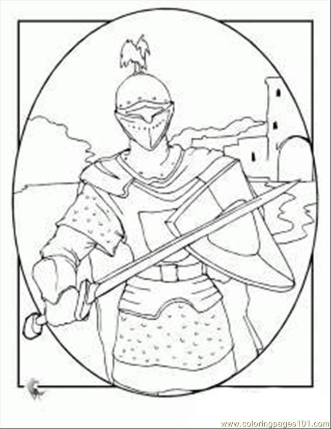 Free Coloring Pages Of Castles