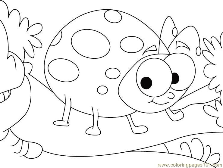 Ladybug Valentine Coloring Pages Coloring Pages