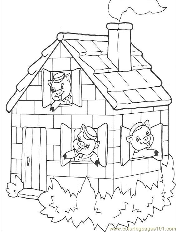 Three Little Pigs Sequencing Printable http://www.coloringpages101.com ...
