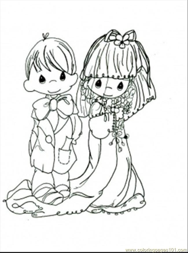 Coloring page kid wedding free coloring pages Coloring book wedding